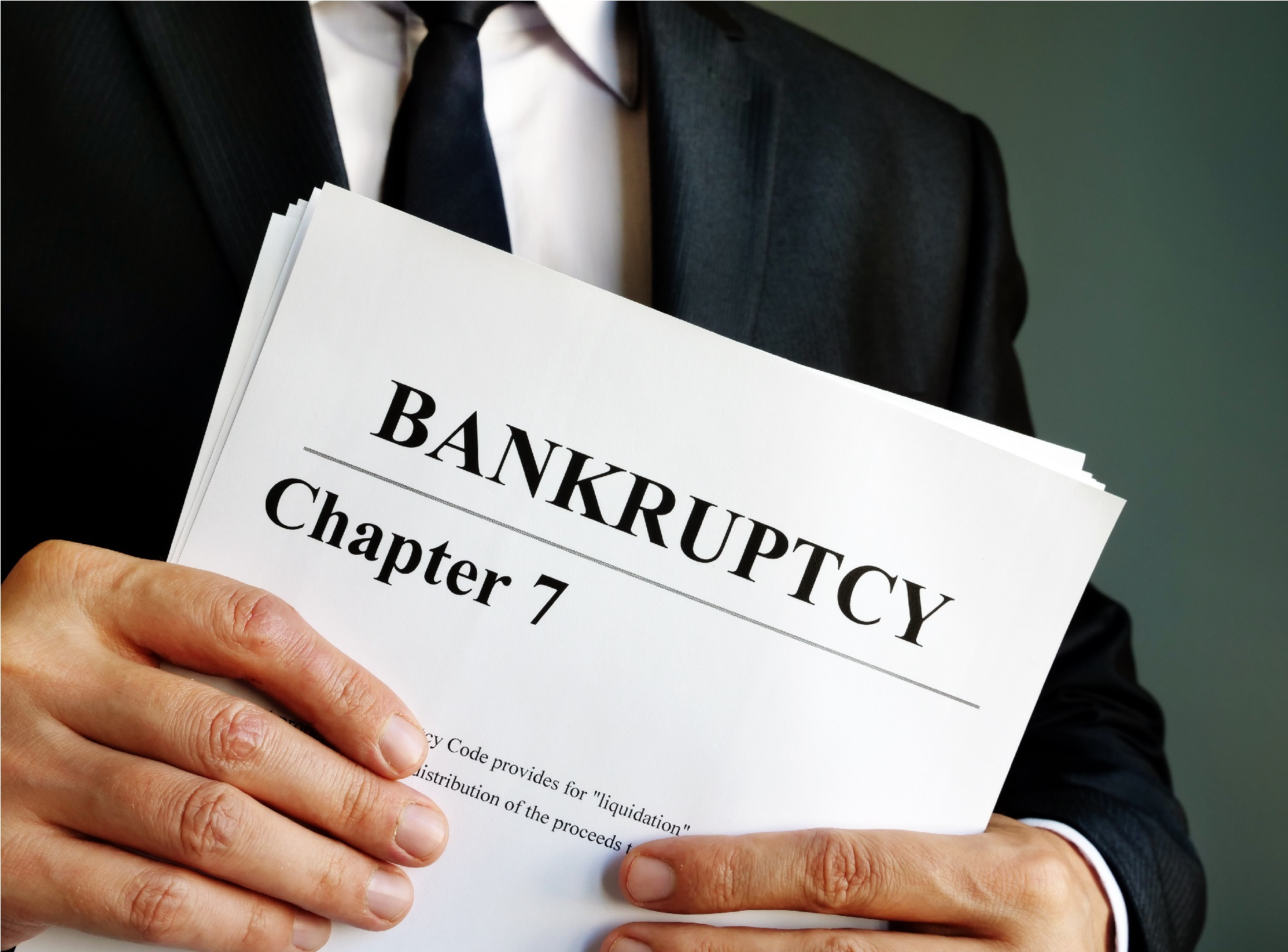 What Chapter 7 Bankruptcy Means for Those Who Declare It